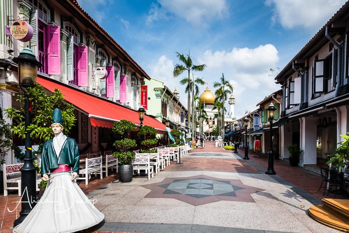 Pedestrian street - Kampong Glam, Singapore