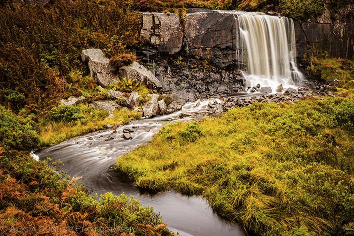 Highland Falls, Nr Applecross, Highlands by Alicia Dunlop Photography