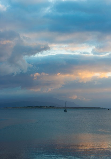 Morning Colours - Inner Sound, Skye by Alicia Dunlop Photography