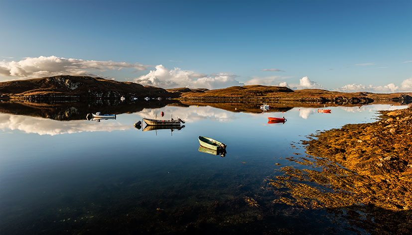 Morning Reflections - Loch Liurbost, Isle of Lewis