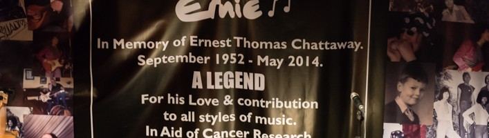 Ernie Chattaway Memorial Gig