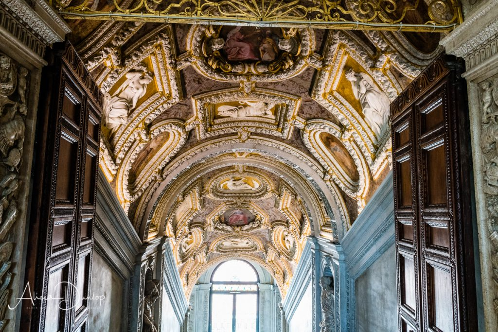 The Golden Staircase within the Doge's Palace - Venice in Spring series Things to do in Venice