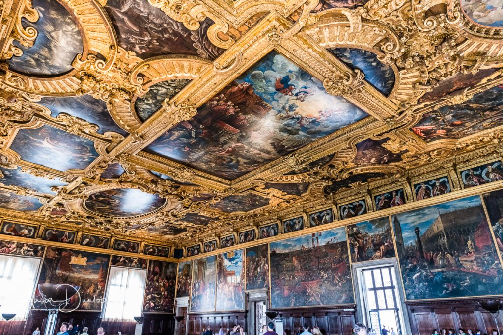 Great Council Chamber within the Doge's Palace - Venice in Spring series Thing to do in Venice