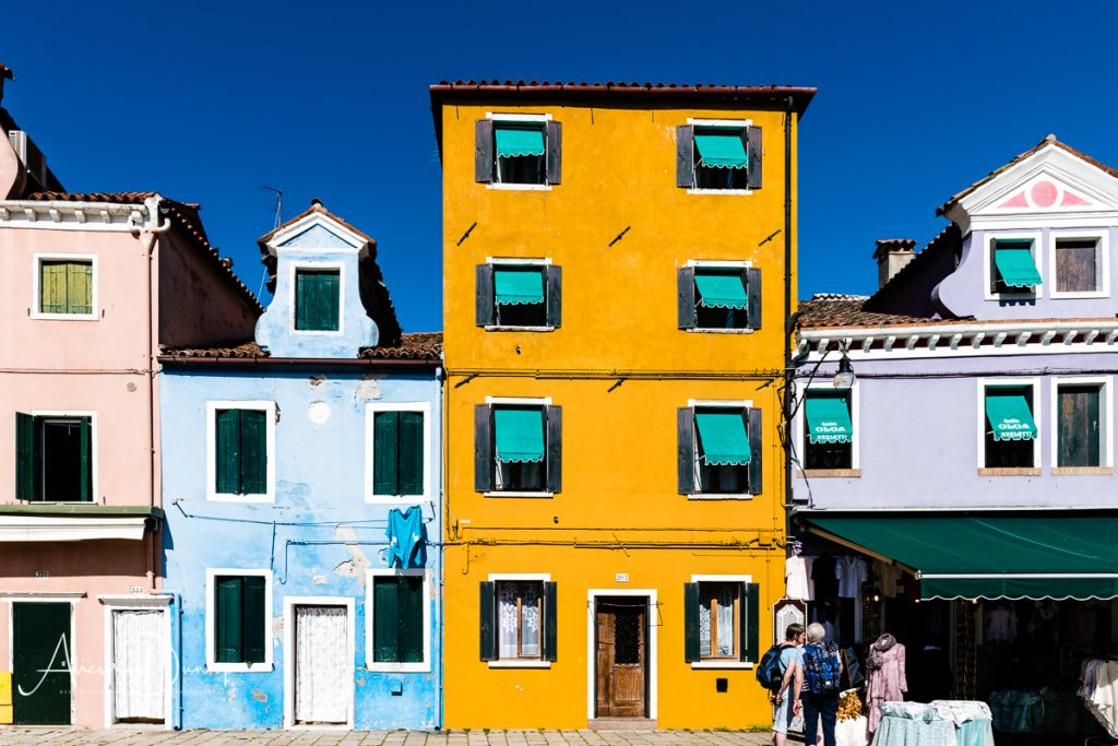 Painted houses of Burano - Venice in Spring series things to do in Venice