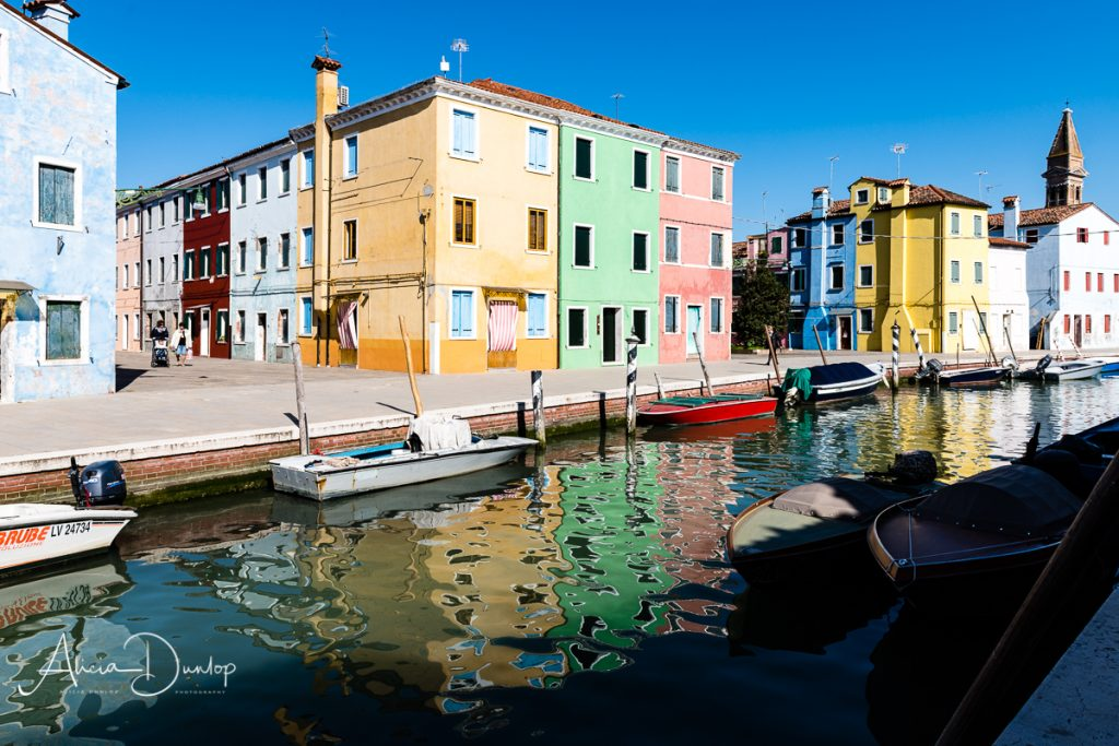 The brightly coloured houses of Burano - Venice in Spring series Things to do in Venice