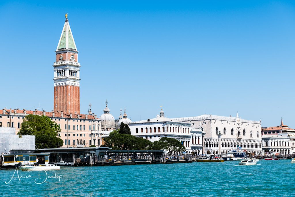The Gothic facade of the Doge's Palace as seen from Santa Maria della Salute - Venice in Spring series Things to do in Venice