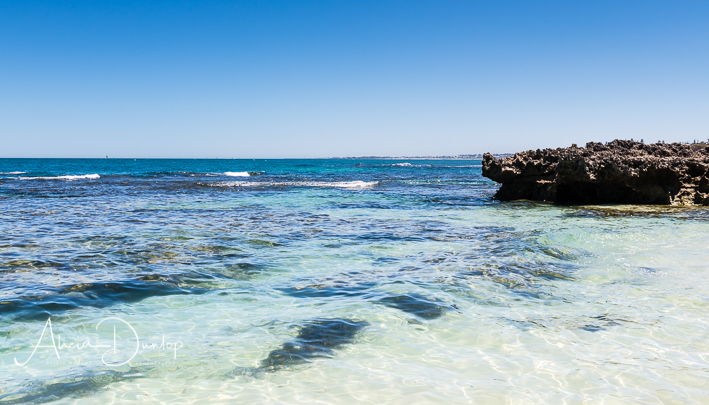 The beautiful Trigg Beach near Perth in Western Australia.