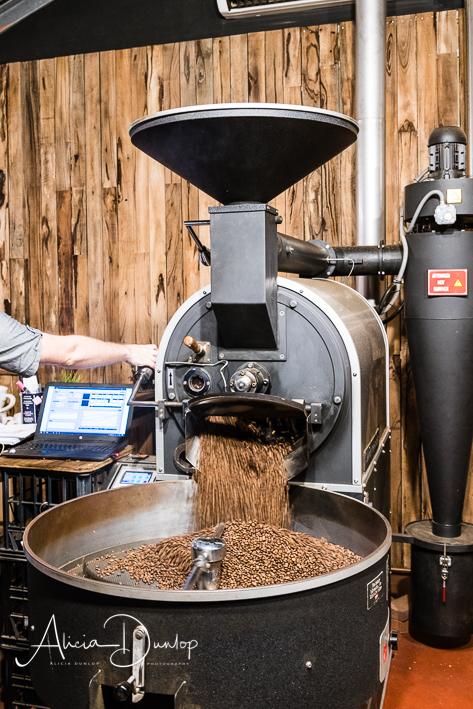 Coffee Roasting - it smelt divine!