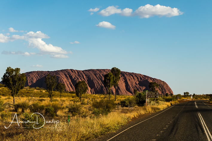 Approaching Uluru - Uluru not just a rock