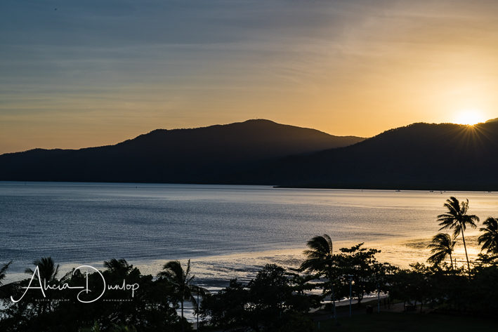 Sunrise over Cairns